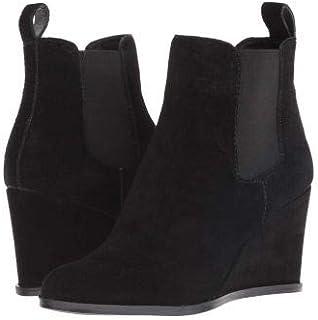 Dolce Vita(ドルチェヴィータ) レディース 女性用 シューズ 靴 ブーツ チェルシーブーツ アンクル Grace - Black Suede [並行輸入品]