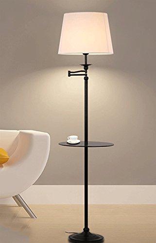 Schick Amerikanische Stehlampe Einfaches Schlafzimmer Wohnzimmer Studie Nachttischlampe Vertikale Paletten Tischleuchten Kaffeetischlampe Ohne Lichtquelle Wärme (Farbe : #2)