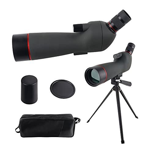 Sparwod 20-60x60 AE Spotting Scope with Tripod,HD BAK4 Prism Full Multi-Coated Lens 45°Angled...