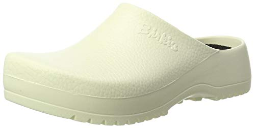 Birki's Unisex Super Birki Clogs, Weiß White, 41 EU