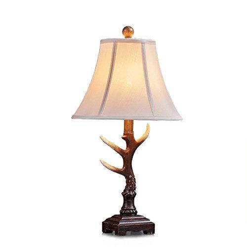 ZWL Lampe de table à résine en résine, étude créative Petite lampe Studio Office Lampes de table décoratives Single Head E27, 55 * 30.5CM fashion.z (taille : 55 * 30.5cm)