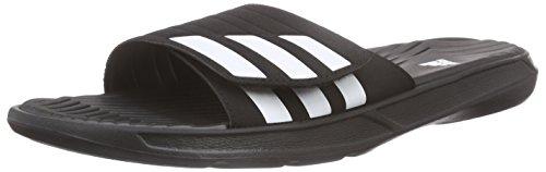 adidas Performance Herren Izamo Dusch- & Badeschuhe, Schwarz (Core Black/Ftwr White/Core Black), 47 EU