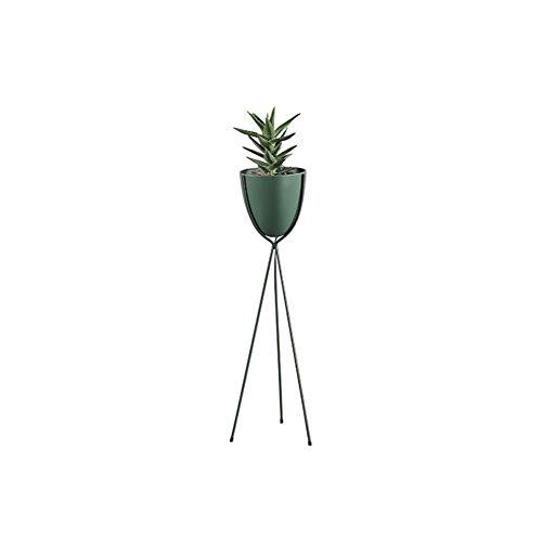 WAJI Nordic eenvoudige smeedijzeren bloemenstandaard woonkamer licht creatieve plant bloempot