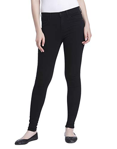 ONLY Damen Onlrain Reg Cry6060 Noos Skinny Jeans, Schwarz (Black Denim), L/L30