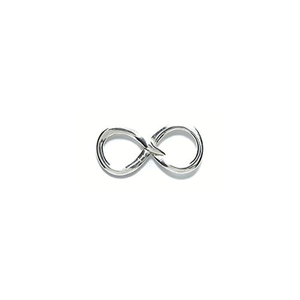 Amoracast Sterling Silver Link Infinity 9x18mm, 9 x 18mm