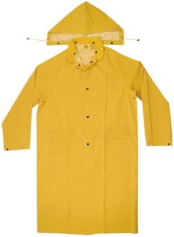 Extra long raincoat