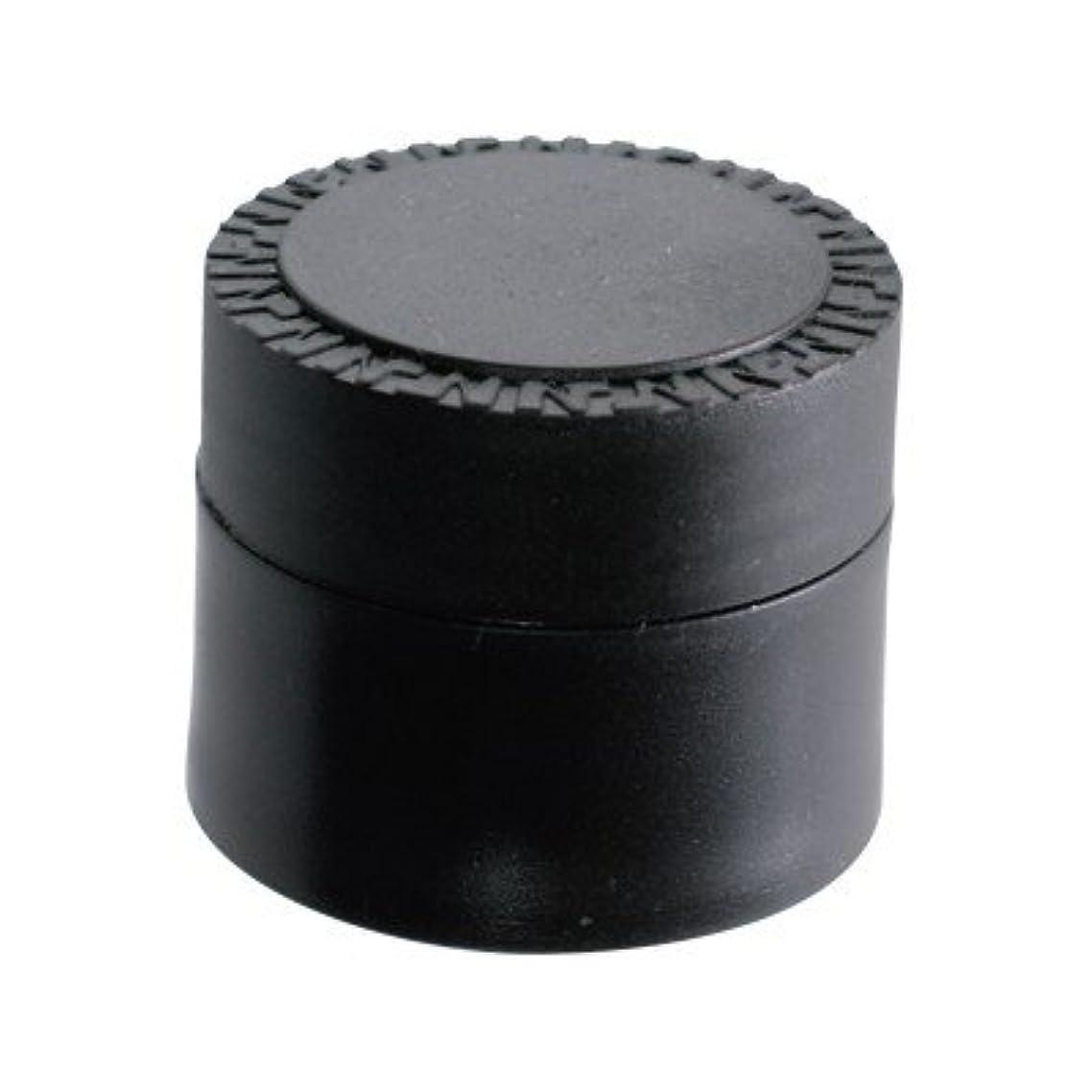 パケット想像力豊かな腰NFS メルティージェル 空容器 黒 18g