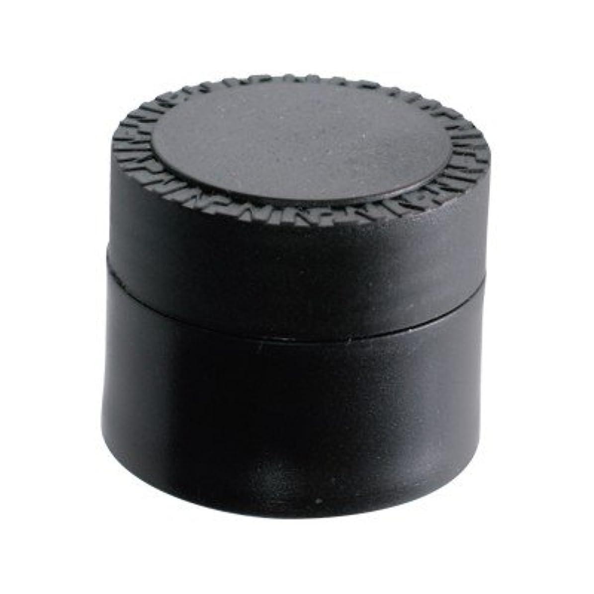 一般的に誠実ブースNFS メルティージェル 空容器 黒 18g