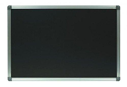 Kreidetafel/Schultafel,schwarz, magnetisch, mit Alurahmen (80 x 120 cm)