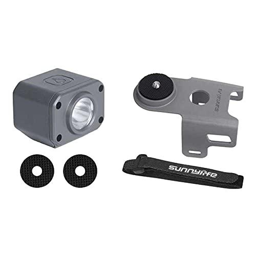 junmo shop Drone Night Flight Lamp recargable anti perdida luz de advertencia nocturna luz de navegación LED Drone estroboscópico compatible para aire 2 accesorios de iluminación