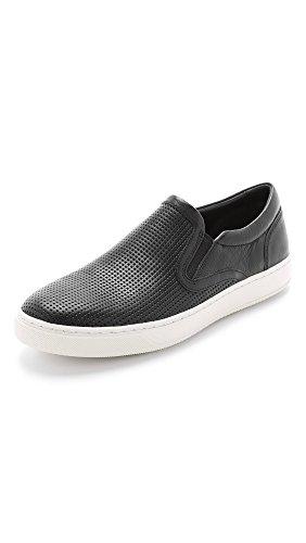 Vince Men's Ace Slip On Sneaker, Black, 7.5 M US
