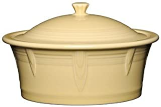 Homer Laughlin 330-1466 Covered Casserole, Ivory