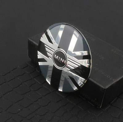 ZKL shop 4 unids 52mm Coche de Estilo Cubierta del Centro de la Rueda Pegatina Hub Cap Decal Emblem Insignia para Mini Cooper S JCW R53 R52 R55 Clubman Countryman Tapacubos (Color Name : G)