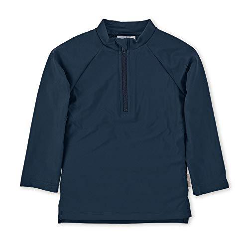 Sterntaler Unisex Baby Langarm-schwimmshirt Rash Guard Shirt, marine, 86/92