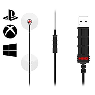 HipShotDot Red Dot LED Aim Assist Mod for Television - Compatible with Xbox, Playstation, and Nintendo - Works with All Shooter Games and FPS - Quick Or No Scope