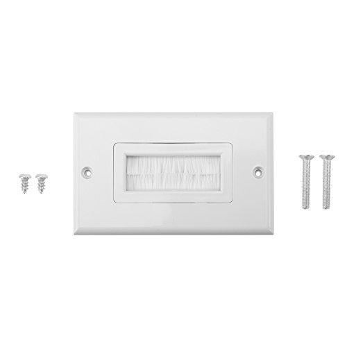 Placa de brushplate del anti-polvo Plato de pared Placa Cinta blanca del...