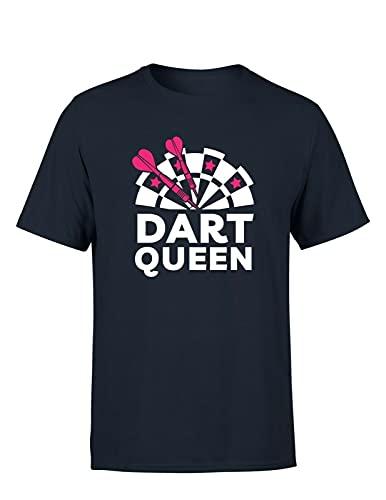 Dart & Dartscheibe Queen Herren T-Shirt...