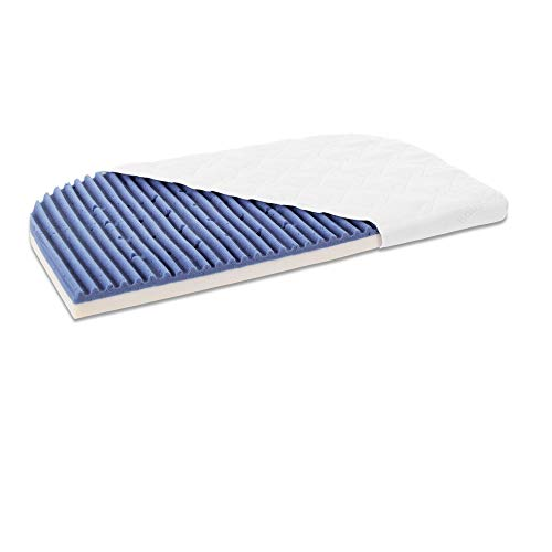 Babybay Mattress Medicott Angelwave Suitable for Model Maxi, BoXSpring And Comfort Plus, Bianco, passend für Modell und