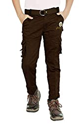 Adbucks Boys Cotton Cargo Pants