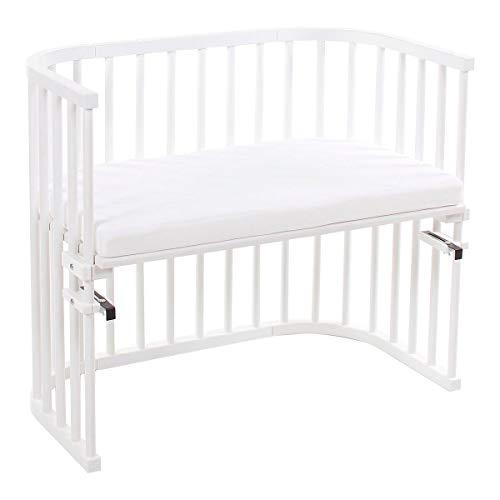 babybay® Lit cododo Maxi 89x51 cm avec matelas Classic Soft lit bébé, peint en blanc