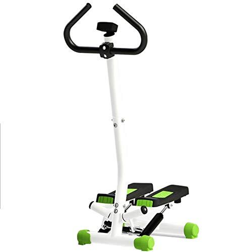Tensism Mini Stepper,Fitnessgerät Treppe Stepper,Stepping Maschine Mit Armlehnen,Für Haushaltsnutzung Multi-funktionale Fitness-gerät Eine