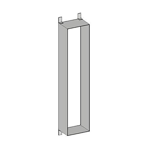 emco Einbaurahmen für Badezimmer Module ASIS 150 (96,4 cm Höhe), Rahmen für hochwertigen Badezimmerschrank als Unterputz-Modell, zum passgenauen und sicheren Einbau