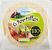 Acapulco Bio Tortilla Wrap - 6 Stück (6 x 240 gr)