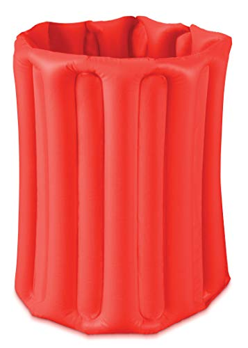 Inflatable Cooler For Beverages Drinks Beer COLORS VARY At Random And May Be Different From Illustrated Color. Round Standing Cooler For Beach Pool Party Picnic Table For Backyard Indoor Outdoor