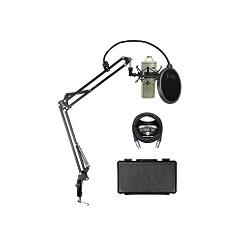 MXL 770 Cardioid Condenser Microphone for Recording Vocals, Pianos, Guitars, and...