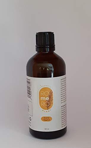 rosemary ROmeRO plant. Aceite vegetal de romero 100 ml. Acción anti-edad, antiseptico y antibiótico.