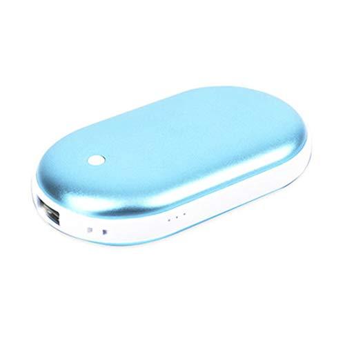 XDHN Mini-USB oplaadbare elektrische handwarmer, oplaadbare verwarming, draagbare telefoon, oplaadbare draagbare powerbank, het beste wintercadeau voor mannen en vrouwen