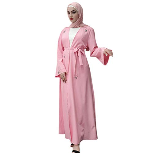 Abaya - Vestido de Mujer Musulmana, Dubai Bordado para Mujer