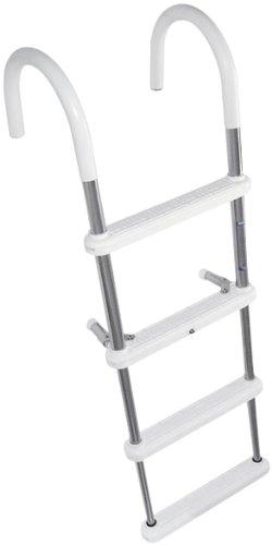 Windline TGL-4 Gunwale Hook Telescoping Ladder - 4-Step