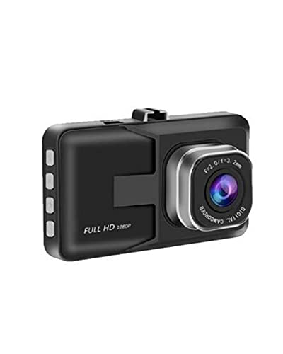 ACD Grabador de vídeo DVR para Coche con cámara de salpicadero de 3 Pulgadas, grabación de Ciclo HD 1080P, grabadora de conducción de Gran Angular con visión Nocturna(Size:16G)