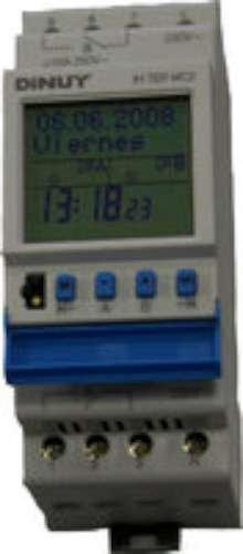 Dinuy terminal micro 0 - Interruptor horario terminal micro 0 canal