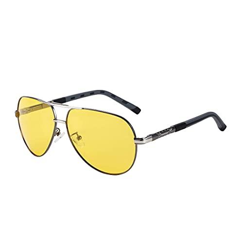 Night Vision Glasses for Driving, Men Women Adults Night Vision And Day, Polarized Glasses for Man & Women – Night View/Glasses With PC, Casual Driver's Sunglasses Goggles