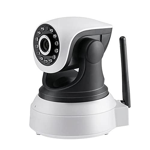 Runtodo CáMara HD 1080P Casa Inteligente Wifi CáMara de DeteccióN de Movimiento de Vigilancia de Seguridad IP Interior para Monitor de Bebé (Enchufe de la UE)
