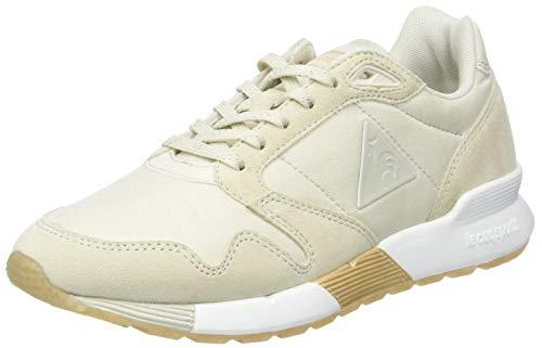 Le Coq Sportif Damen Omega X W Metallic Sneaker, Beige (Turtle Gris Dove/Rose Gold Beige Crème), 37 EU