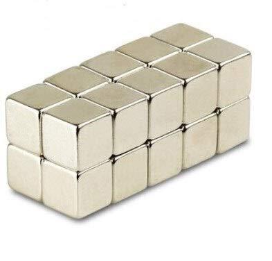 Magnetastico® | 25 Piezas imanes de neodimio N52 cúbicos 5x5x5 mm | Imán de Nevera Imán para cartelera Imán Permanente Imán para Pizarra interactiva