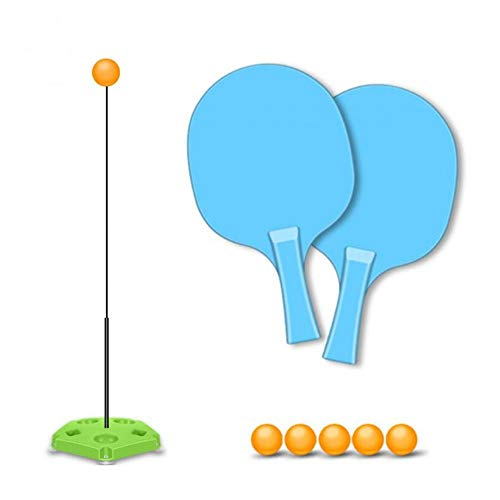Generp Tischtennis-Trainer mit elastischem Soft-Schaft Ping Pong Training Tools für Kinder drinnen und draußen Spielen