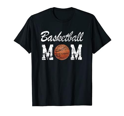 Maglietta da basket con scritta 'Mum' Maglietta
