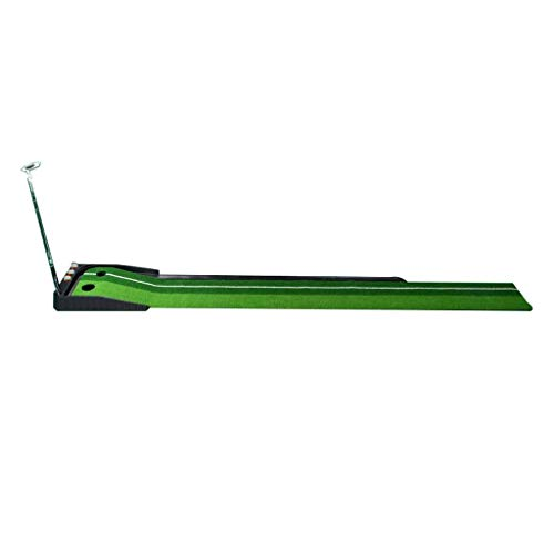 Check Out This JKLL Golf Putting Trainer, Indoor/Outdoor Golf Auto Return Putting Trainer Mat, Dual-...
