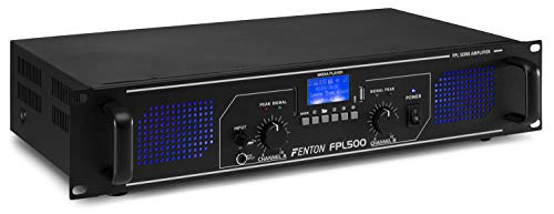 Fenton FPL500 Digitale Versterker 2x 250 Watt met Bluetooth, USB en MP3 Speler