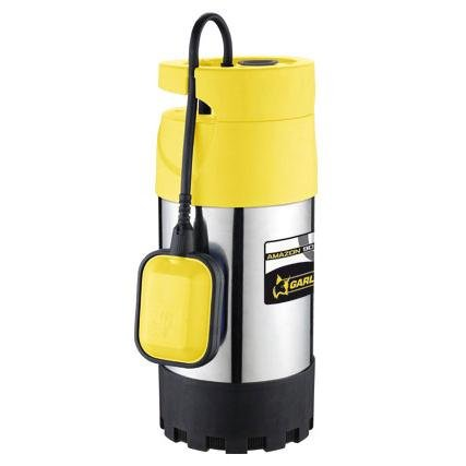 Garland Amazon 909 XE 4T-V17 Bomba Sumergible, Amarillo