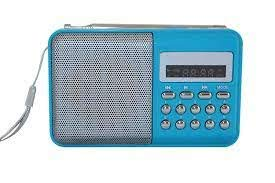 GION L-SS6 Portable Mini Speaker FM Radio Player with Pendrive MicroSD Card Support Media Player