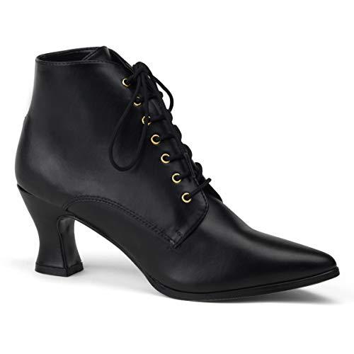 Higher-Heels Funtasma Renaissance-Schuhe Victorian-35 Mattschwarz Gr. 38