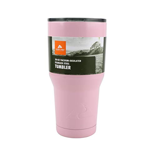 Ozark Trail Pink 30oz. Vacuum Insulated Powder...