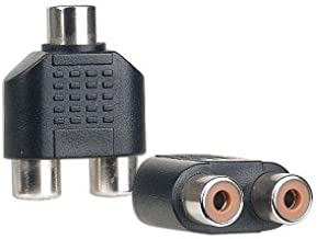 RCA (F) to Dual RCA (F) Adapter
