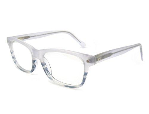 OCCI CHIARI Optische Brillen Rahmen Modische stilvolle flexible Rechteck Metall Rezept Brillen Rahmen mit Federscharnier und klare Objektive für Männer…