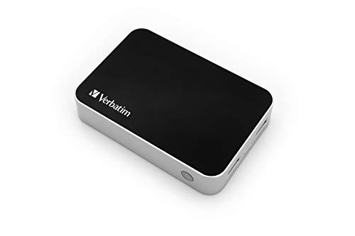 Verbatim tragbares Akkuladegerät 10.400 mAh, Pocket Power Pack 49946, Universal-Ladegerät, LED Statusanzeige